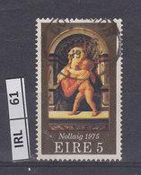IRLANDA  1975Natale 5 Usato - 1949-... Repubblica D'Irlanda