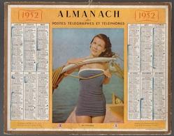 Almanach Des Postes Télégraphes Et Téléphones De 1952 - Calendriers
