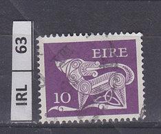 IRLANDA  1977Animali Simbolici 10 Usato - 1949-... Repubblica D'Irlanda