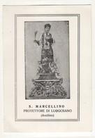 Santino Antico San Marcellino Da Luogosano - Avellino - Religione & Esoterismo