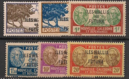 Wallis Et Futuna - 1944 - N°Yv. 125 à 130 - Série Complète - Neuf Luxe ** / MNH / Postfrisch - Wallis And Futuna