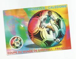 755  Coupe Du Monde 1998   Carte Ayant Voyagé (clasviol) - Nueva Caledonia