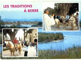CPM* N°2330 - LES TRADITIONS A BERRE L' ETANG - Frankreich