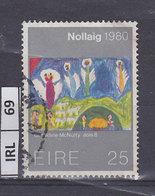 IRLANDA  1980Natale 25 Usato - 1949-... Repubblica D'Irlanda