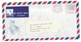 Scheepspost Bootpost Par Bateau By Boat Mail Maastricht Maaspromenade 27 Via Sittard Naar België (1994) Neopost RN5300 - Marcofilie - EMA (Print Machine)