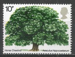 Great Britain 1974. Scott #715 (MNH) Horse Chestnut ** - 1952-.... (Elizabeth II)