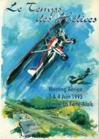 Le Temps Des Hélices - Meeting Aérien CERNY - LA FERTE ALAIS - 3 & 4 Juin 1995 - Meetings