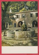 CPM*34- VILLENEUVETTE - La Fontaine - Par CADIOU ** SUP *2 SCANS - Autres Communes
