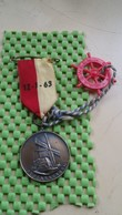 Medaille / Medal - Medaille - A.IJ.C/ A Y C Rondritten 12-1-1963 , Alblasserdam - The Netherlands - Pays-Bas