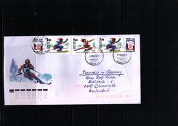 Russia 2003 Olympic Games Salt Lake City Interesting Letter - Winter 2002: Salt Lake City
