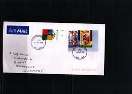 Australia 1998 Rugby Interesting Airmail Letter - Rugby