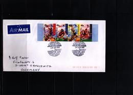 Australia 1999 Rugby Interesting Airmail Letter - Rugby