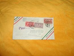 ENVELOPPE UNIQUEMENT DE 1941.../ DEPART MEXICO MEXIQUE POUR NEW YORK USA../ CACHETS + TIMBRES X3 - Mexiko