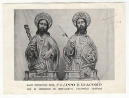 Santino Antico Santi Filippo E Giacomo Da Ospedaletto D'Alpinolo - Avellino - Religione & Esoterismo