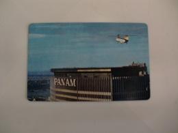 PAN AM Airlines In Spanish Pocket Calendar 1967 - Petit Format : 1961-70