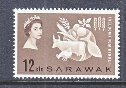 SARAWAK  212    *    FREEDOM  FROM  HUNGER - Sarawak (...-1963)