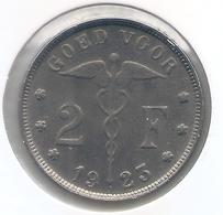 ALBERT I * 2 Frank 1923 Vlaams * Prachtig * Nr 5315 - 1909-1934: Albert I