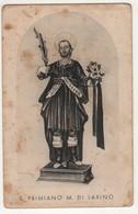 Santino Antico San Primiano Martire Da Larino - Campobasso - Religione & Esoterismo