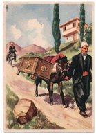 ALBANIE/ALBANIA - TRASPORTO DEL CORREDO DELLA SPOSA / ILLUSTRATORE LUBATTI - Albania