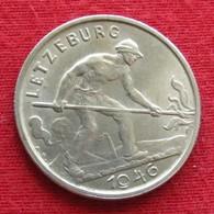 Luxembourg 1 Franc 1946 KM# 46.1 Lt 385 Luxemburgo - Luxembourg