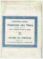 Titre Ancien - Compagnie Royale Asturienne Des Mines - Titre De 1923 - N° 240671 - Mines