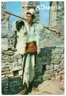 ALBANIE/ALBANIA - SHKODRA FOLK COSTUME / THEMATIC STAMP-MOTHER TERESA - Albania