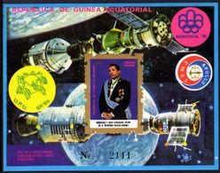 Equatorial Guinea 1975 President MacÌas Nguema Souvenir Sheet Unmounted Mint. - Equatorial Guinea