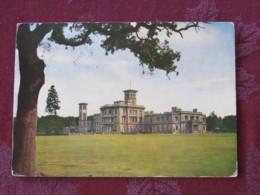 """Great Britain 1968 Postcard """" Osborne House Isle Of Wight """" Ship Slogan To England - Machin Stamp 4d - Ver. Königreich"""