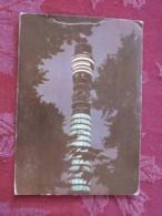 """Great Britain 1968 Postcard """" Post Office Tower In London """" London (posted At Post Office Tower) To England - Machin Sta - Ver. Königreich"""
