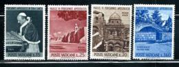 "Vatican City      ""Viusit Of Pope Paul VI""     Set    SC# 375-78   MNH - Unused Stamps"