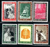 "Vatican City     ""Pope John XXII""      Set     SC# 439-44     MNH - Unused Stamps"