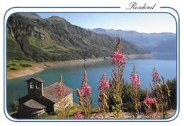 73 Roselend La Chapelle Et Le Lac (2 Scans) - Autres Communes