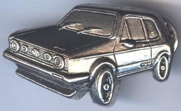 BIG Pin's 3D Relief Tirage Limité 300 Ex - Voiture VOLKSWAGEN GOLF GTI - Volkswagen