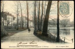 ETTERBEEK :   Vue Dans Le Parc Léopold : L'Etang - Etterbeek
