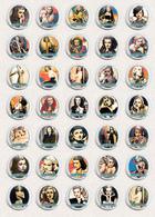 Joan Bennett Movie Film Fan ART BADGE BUTTON PIN SET 4 (1inch/25mm Diameter) 35 X - Films
