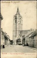 TERNAT : Vue De La Rue De L'Eglise - Ternat
