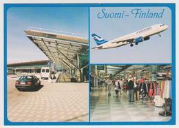 1434/ HELSINKI Vantaa Airport (Finland). Finnair. - Non écrite. Unused. No Escrita. Non Scritta. Ungelaufen. - Aeródromos