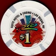 $1 Casino Chip. Rio, Las Vegas, NV. I09. - Casino