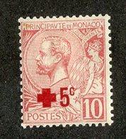 W-13119 Monaco 1914 Sc.#B1* Offers Welcome! - Nuevos