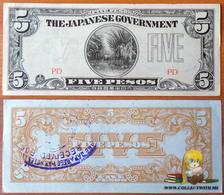 Philippines 5 Pesos 1942 AUNC - Filipinas