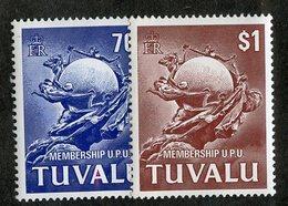 W-13134 Tuvalu 1981 Sc.#164-65**mnh Offers Welcome! - Tuvalu (fr. Elliceinseln)