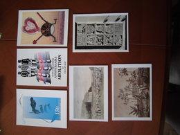 Réunion: Sept Cartes Postales éditées Pour Le 150ème Anniversaire De L'Abolition De L'esclavage (1998) - Réunion