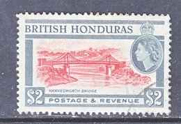 British Honduras 154   (o)    BRIDGE - British Honduras (...-1970)