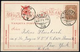 1895, Mexiko, P 72, Brief - Mexiko