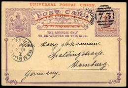 1892, Victoria, P 12, Brief - Kanada