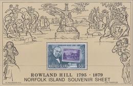 Norfolk Island ASC 229MS 1979 Rowland Hill, Miniature Sheet, Mint Never Hinged - Norfolk Island