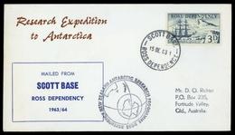 1957, Ross Gebiet, 1, Brief - Ross-Nebengebiet (Neuseeland)