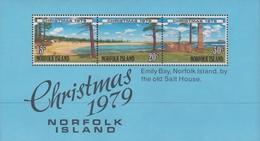 Norfolk Island ASC 231-233 1979 Christmas, Miniature Sheet, Mint Never Hinged - Norfolk Island