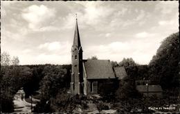 Cp Seedorf In Schleswig Holstein, Blick Auf Die Kirche, Straßenpartie - Allemagne