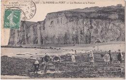 76. ST-PIERRE-EN-PORT. Les Rochers Et La Falaise. 1135 - Sonstige Gemeinden
